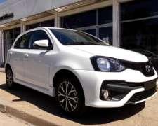 Toyota Etios 5 Ptas XLS M/T 0km My21, Disponible. Orio Hnos