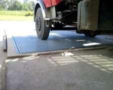 Basculas para Pesar Camiones por Ejes