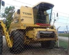 Cosechadora New Holland TC59 - año 2001