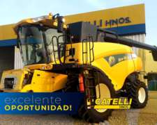 Cosechadora New Holland CR9060 año 2013
