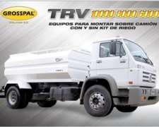 Acoplado Tanque para Camión TRV - Grosspal