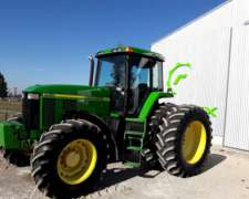Tractor John Deere 7810, año 2003