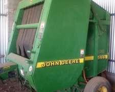 Rotoenfardadora John Deere 566