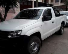 Camioneta Amarok TDI con Jaula Lev. Cristales Alarma