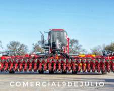 Sembradora Apache Mod AIR Drill 63000 Combinada - 9 de Julio