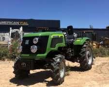 Tractor Viñatero Tipo John Deere 45 HP, 4X4 Marca Chery
