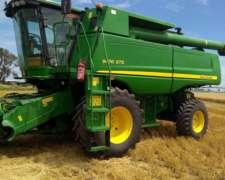 Jhon Deere 9470 año 2012. 2751 Hs - Plat 25 Pies Caracol