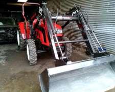 Tractor Hanomag 604 0 km 65 HP con Pala