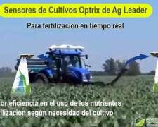 Sensores de Cultivo Optrix para Fertilización en Tiempo Real