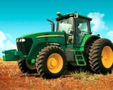 Tractor John Deere 7215j de 215 HP por Plan de Ahorro