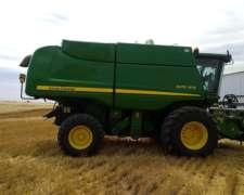 John Deere 9470 año 2012 - 25 Pies.- 4200 Hs Motor / 3500 TR