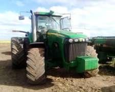 Tractor John Deere 8420 DT con Piloto Automático