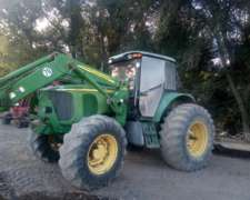 Tractor John Deere 7515, año 2007