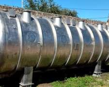 Tanque Cisterna de Acero Inoxidable Industrial