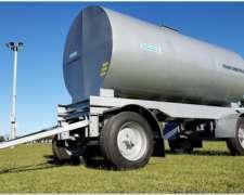 Acoplado Tanque Cisterna de Chapa para 12000 Lts.