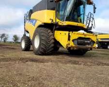 New Holland CR 9060 año 2012 con Cabezal 35
