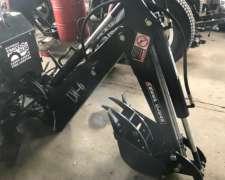 Brazo Retroexcavador para Tractores 3 Puntos Nueva