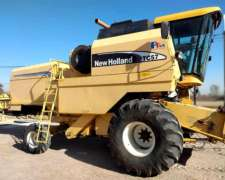 New Holland TC 57 año 2004 con 23 Pies con Maicero