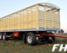 Acoplado FH Carga General Palletero Mixto