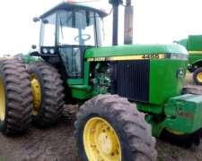 Tractor John Deere 4455 Con Duales