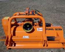Trituradora De Podos O Arbustos De 8 Cm De Diámetro - Yomel