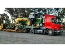 Carreton Transportamos Maquinarias John Deere/pauny/case