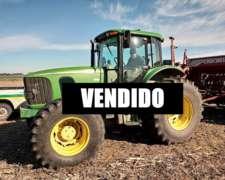Vendido - Tractor JD 7515 - 2007