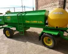Cisterna de 3000 Lts Combinada Nueva