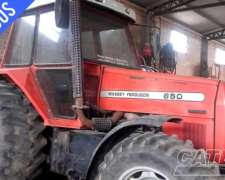 Tractor Massey Ferguson 650 Año 2006