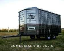 Acoplado Trailer para Cinco Caballos Conese - 9 de Julio