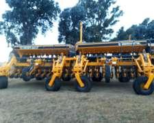 Sembradora Agrometal TX Mega GEN 3, 23 a 35 Nueva