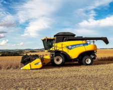Cosechadora New Holland Cr 6080 Axial Cabezal De 30 Pies
