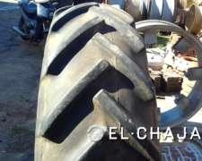 Cubiertas de Tractor Usadas Marca Goodyear 12.75.24.-