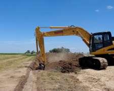 Excavadora Oruga Michigan Me220z- Vende Servicampo Tandil