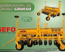 Sembradora de Granos Gruesos SF-52/70 - Sefo -