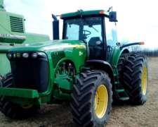 Tractor John Deere 8220 año 2004 en muy Buen Estado