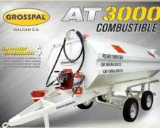Acoplado Tanque para Combustible AT 3000 - Grosspal