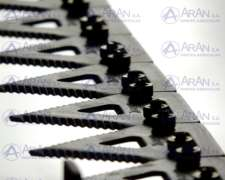 Cuchilla Armada 22ft Agco Plataforma 8200 Doble Mando (der)