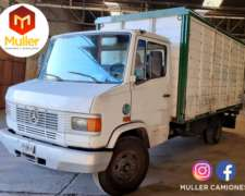 Mercedes Benz L-709/37 Turbo con Caja Modelo 1992