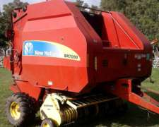 Rotoenfardadora New Holland 7090 con RED