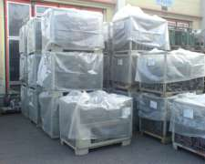 Fundas De Nylon Cristal Para Pallets O Carros De 2.40x1.50m