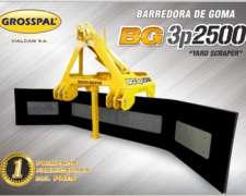 Barredora de Goma BG 3p 2500 - Grosspal