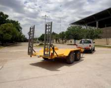 Trailer Playo / Carreton De 2 Ejes / Balancin / Auxilio