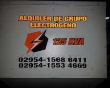 Alquiler de Grupo Electrógeno