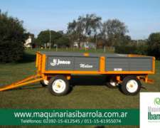 Acoplado Playo Malevo AR 4000 Junco Maquinarias Ibarrola