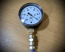 Vacuómetro para Medir Vacío Dosificador Neumático