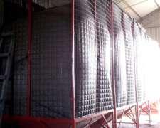 Silo Aereo 10-12 TN Cuadrado para Interior de Galpon