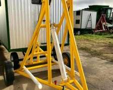 Elevador - Cargador de Rollos Nuevos C/ Cilindro Hidraulico