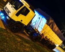 Iveco Eurocargo Attack con Batea Salto