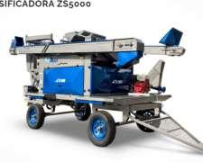 Clasificadora Móvil-ruly Modelo ZS 5000 5-6 Tonelada/hora